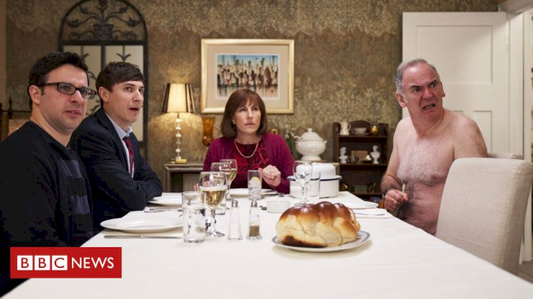 Friday Night Dinner: Why food fights and mayhem have become a TV treat
