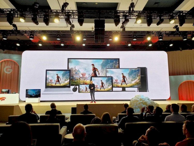 What resolution do games stream on Stadia?