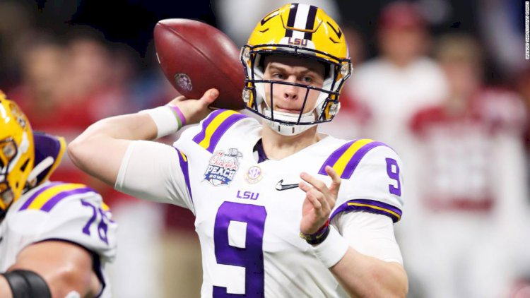 LSU overwhelms Oklahoma to reach the College Football Playoff national championship game