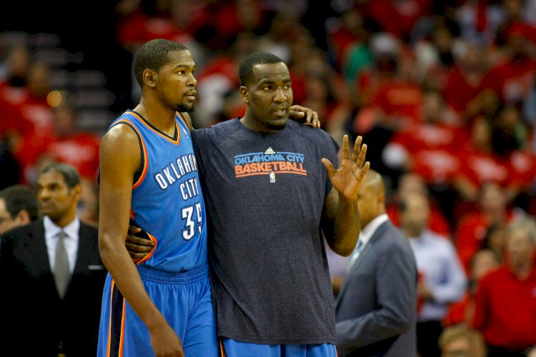 After fiery Twitter exchange, Kendrick Perkins questions why Kevin Durant cares so much