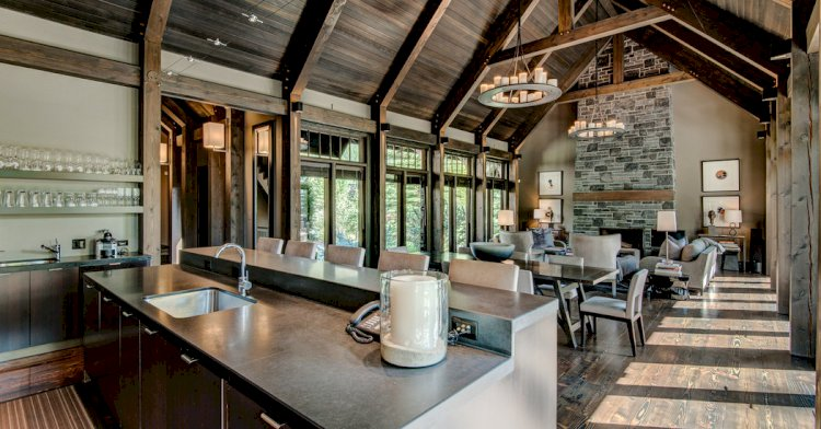 House Hunting in Alberta, Canada: A Timber Chalet in the Rockies