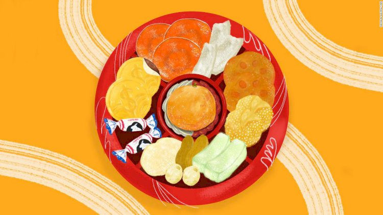 Lunar New Year candy boxes, decoded