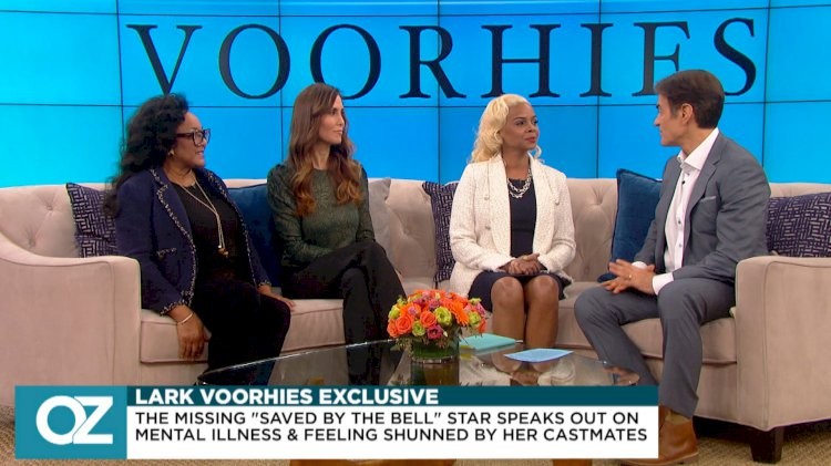"""Saved by the Bell"" star Lark Voorhies speaks about mental illness on Dr. Oz"