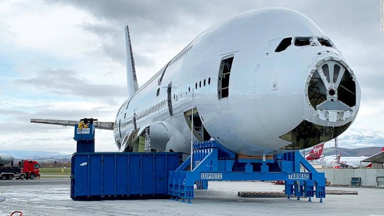 First A380 superjumbo pulled apart for souvenirs