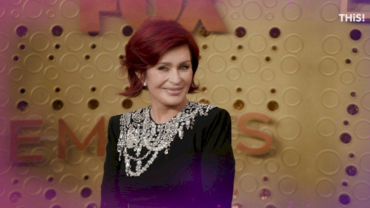 Sharon Osbourne goes platinum blonde and gives an Ozzy health update