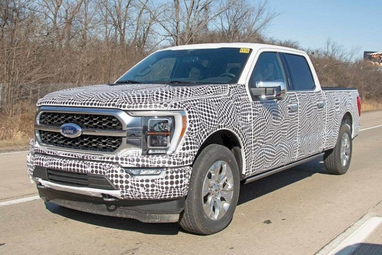 2021 Ford F-150: Spy photos reveal first look at Ford's redesigned F-150 pickup